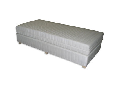 Boxspring 1 persoons Ecru