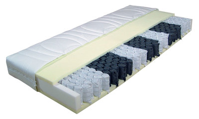 7-zone pocketvering matras